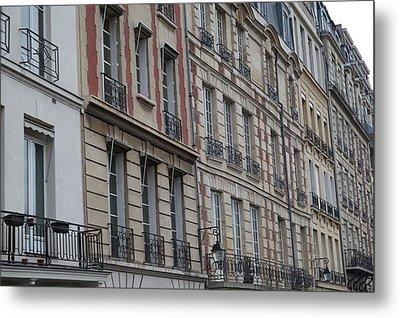 Paris France - Street Scenes - 011357 Metal Print by DC Photographer
