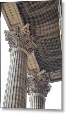 Paris France - Street Scenes - 011391 Metal Print by DC Photographer