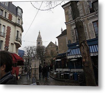 Paris France - Street Scenes - 121231 Metal Print by DC Photographer