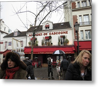 Paris France - Street Scenes - 121232 Metal Print by DC Photographer