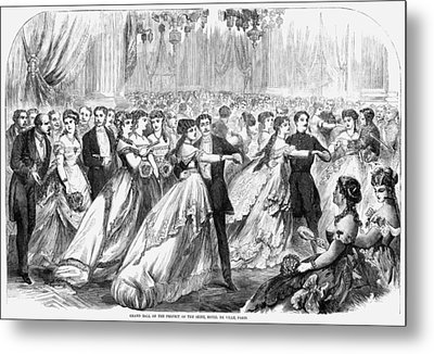 Paris Grand Ball, 1867 Metal Print by Granger