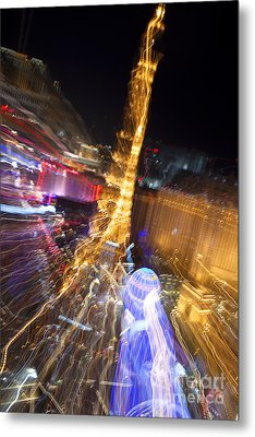 Paris In Vegas Metal Print by Igor Kislev