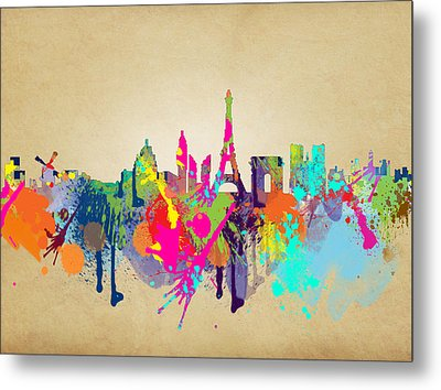 Paris Metal Print by Mark Ashkenazi
