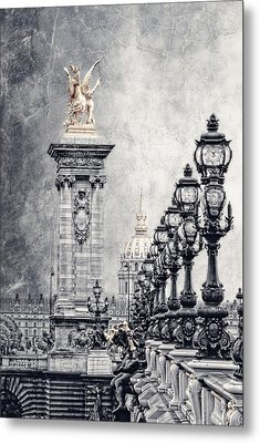 Paris Pompous 2 Metal Print by Joachim G Pinkawa