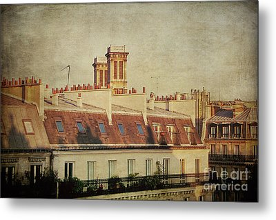 Paris Rooftops Metal Print by Ivy Ho