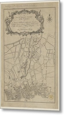 Parishes Of London Metal Print by British Library