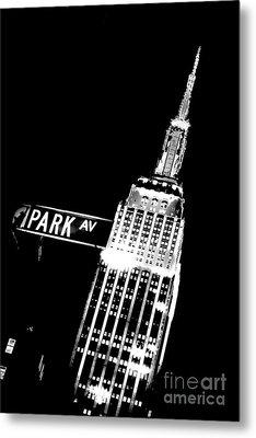 Park Avenue Metal Print by Az Jackson