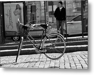 Parked Metal Print by Frederico Borges