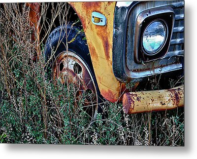 Metal Print featuring the photograph Parked Fuel Oil Truck by Greg Jackson