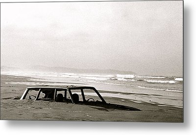 Parked Metal Print by Kim Pippinger