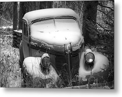 Parked Metal Print by Trever Miller
