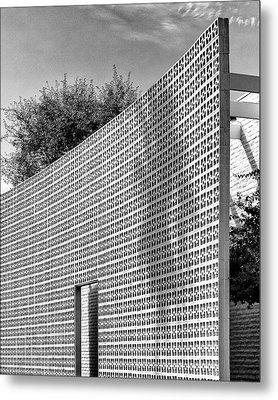 Parker Shadow Palm Springs Metal Print