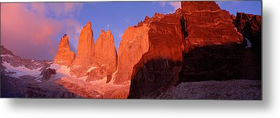 Parque National Torres Del Paine Metal Print by Panoramic Images