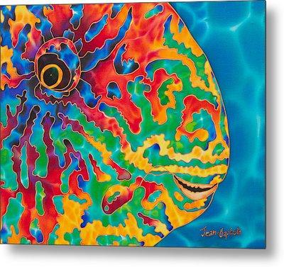Parrotfish Metal Print by Daniel Jean-Baptiste