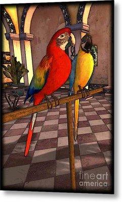 Parrots1 Metal Print
