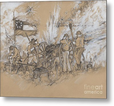 Parrott Answer Metal Print by Scott and Dixie Wiley