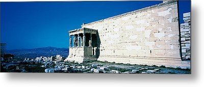 Parthenon Complex Athens Greece Metal Print by Panoramic Images