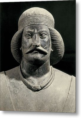 Parthian Warrior From Shami. 1st C Metal Print