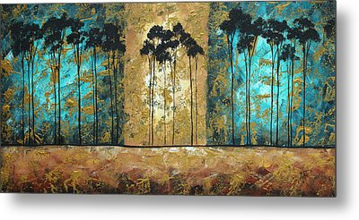 Parting Of Ways By Madart Metal Print by Megan Duncanson