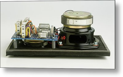Parts Of A Loudspeaker Metal Print