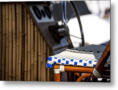 Party Boat Metal Print by Robert Smith