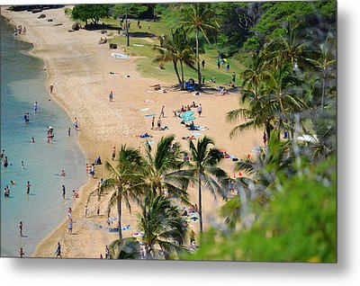 Party On The Beach Metal Print