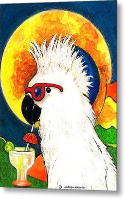 Party Parrot 1 Metal Print