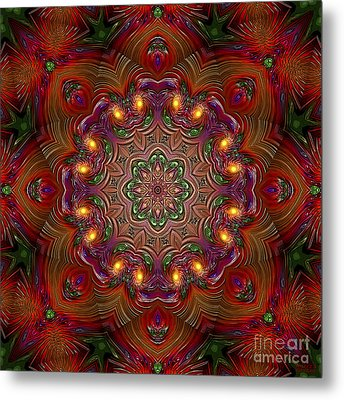 Metal Print featuring the digital art Party Time 3 D Art by Hanza Turgul
