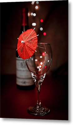 Party Time Still Life Metal Print by Tom Mc Nemar