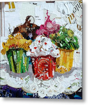 Party Time Metal Print by Suzy Pal Powell