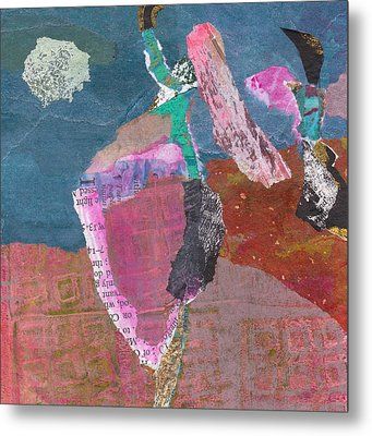 Metal Print featuring the mixed media Pas De Deux by Catherine Redmayne