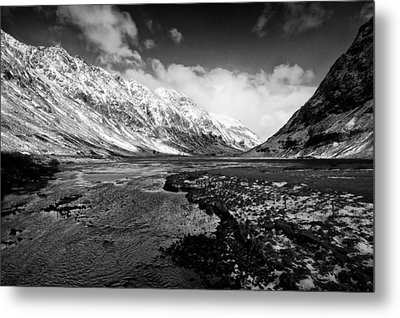 Pass Of Glencoe Metal Print
