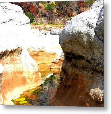 Metal Print featuring the photograph Passage To Color by David  Norman