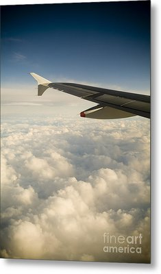 Passenger View Metal Print by Tim Hester