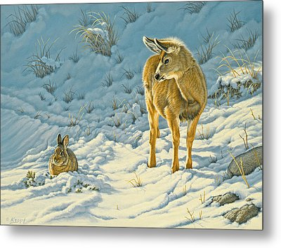 Passing Curiosity Metal Print by Paul Krapf