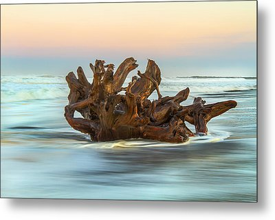 Passing Through Metal Print by Randy Wood