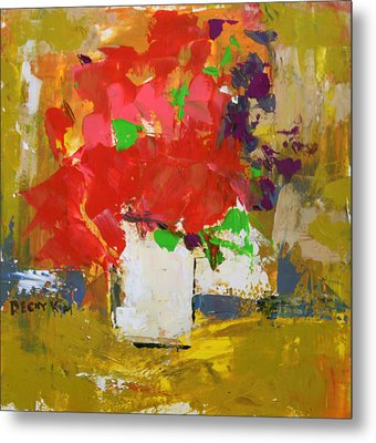 Passion 1 Metal Print by Becky Kim