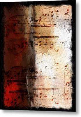 Passion And Light Metal Print by Lon Chaffin
