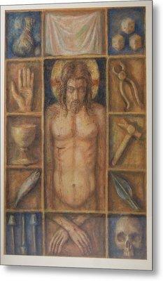 Passion Cabinet Metal Print by Paez  Antonio