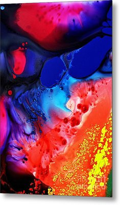 Metal Print featuring the painting Passion by Christine Ricker Brandt