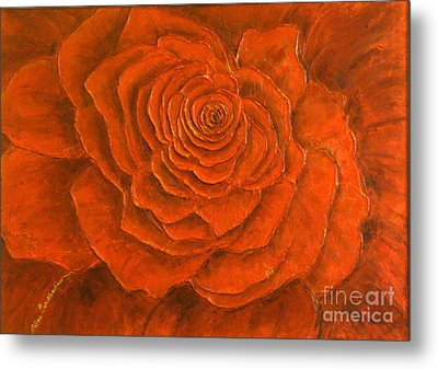 Passion Metal Print by Elena  Constantinescu