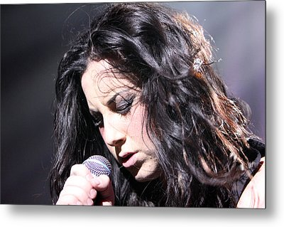 Passion For Singing Metal Print by Shoal Hollingsworth