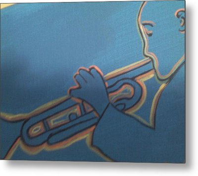 Passion Metal Print by Lew Griffin