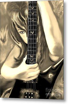 Passion Metal Print by Lori  Lovetere