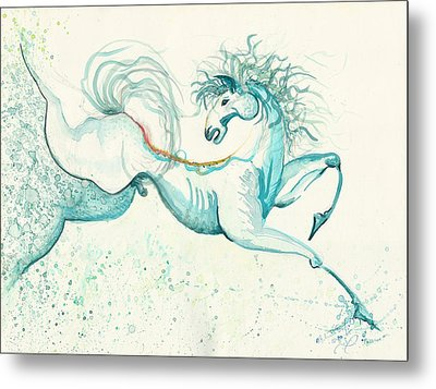 Passion Metal Print by Melinda Dare Benfield