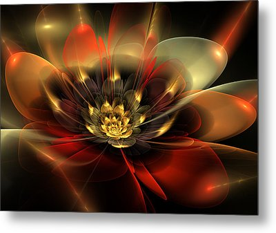Passion Metal Print by Svetlana Nikolova
