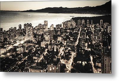 Passionate English Bay Mccclxxviii Metal Print by Amyn Nasser