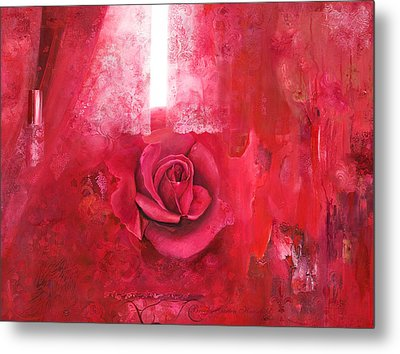 Passionately - Original Art For Home And Office Metal Print