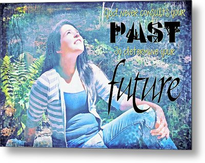 Past And Future Metal Print