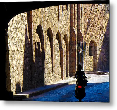 Past And Present Metal Print by Douglas J Fisher